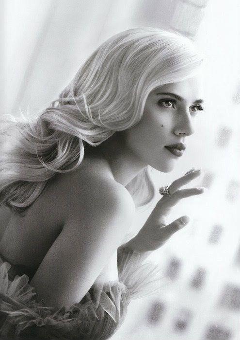 Old Hollywood glam hairstyle - My wedding ideas