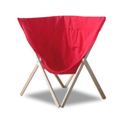 Dinn - Canvas Kids Chair Creyon Red by Heyci by HeyCi on Etsy