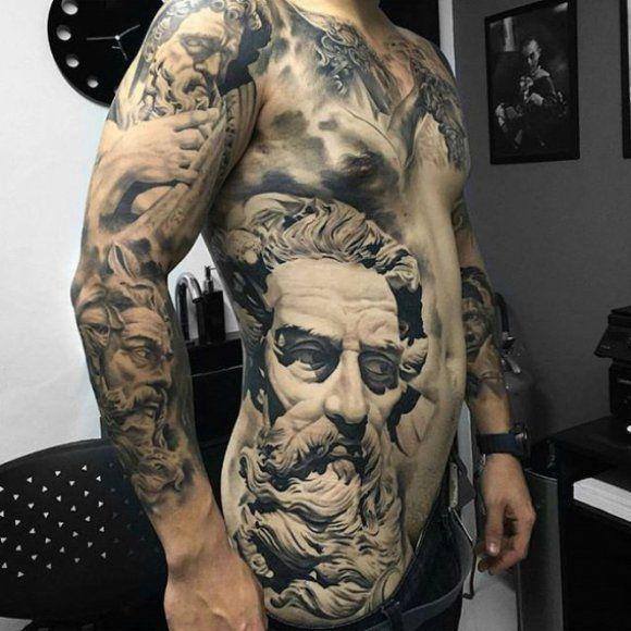 Te tatuaże to prawdziwe dzieła sztuki! | bebzol.com