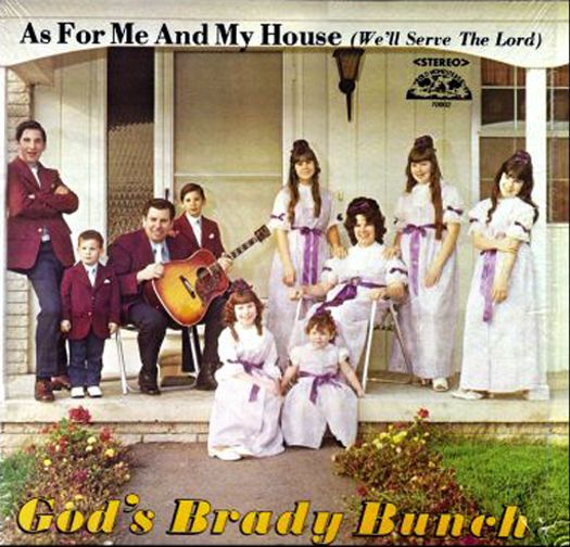 God's Brady Bunch Worst album covers bad album covers funny albums lps vinyl classic albums rock gospel big hair worst tattoos funny pictures awkward family photos stupid rock horrible terrible records rolling stones people