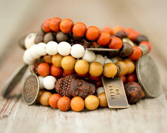 Mala Bracelets / Malas / Prayer Beads / Buddhist par amywaltz