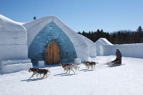 Slapen in een ijshotel! Hotel de Glace, Quebec City, #Canada #sneeuw #winter #vakantie