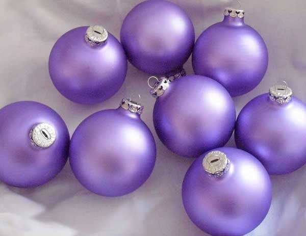 Purple Balls For Decoration 203 Best Holiday Purple Images On Pinterest  Xmas Christmas Deco