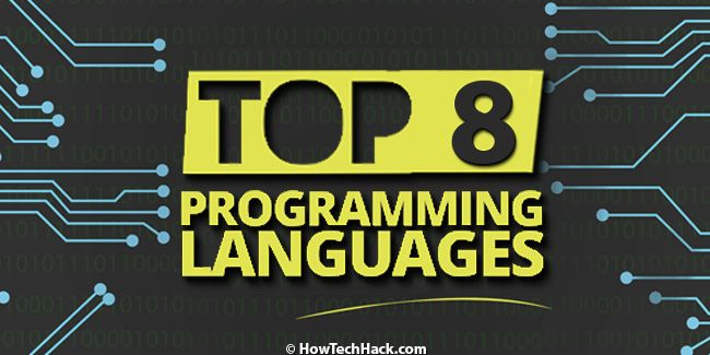 Top Programming Languages That Every Developer Should Learn In 2018 #Top #Best #Programming #Computer #Languages #Developer #Language #C++ #C #Python #Code #Coding #HowTechHack #2K18