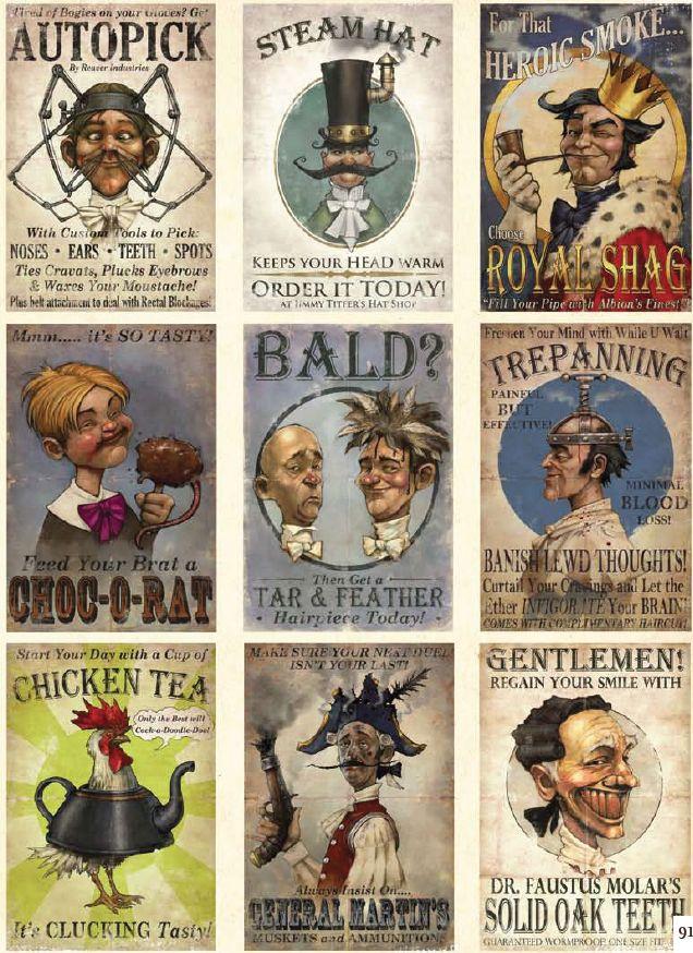 Fable III propaganda posters.