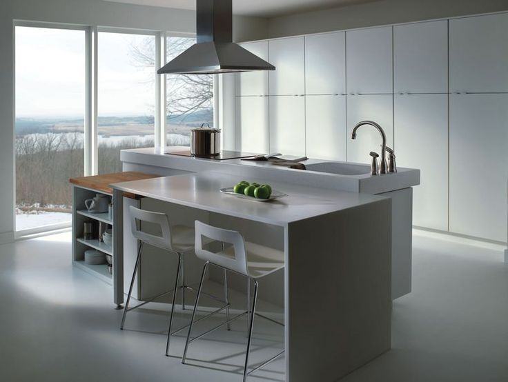 Merillat masterpiece glencoe in laminate white style for Merillat white kitchen cabinets