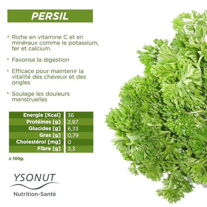 Quelle est l'herbe aromatique la plus utilisée en #cuisine ? Évidemment on parle du #persil mais en plus de donner du goût à vos plats, il a aussi d'autres #bienfaits.