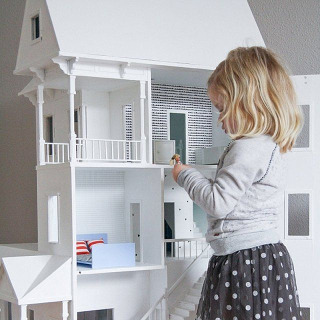 finest diy pour les enfants maisons de poupe faire soimme with jeu pour construire sa maison. Black Bedroom Furniture Sets. Home Design Ideas