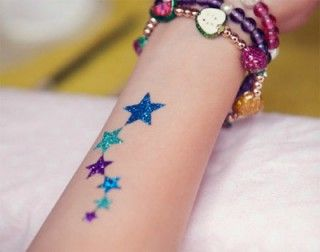 17 Best Ideas About Glitter Tattoos On Pinterest  Cone