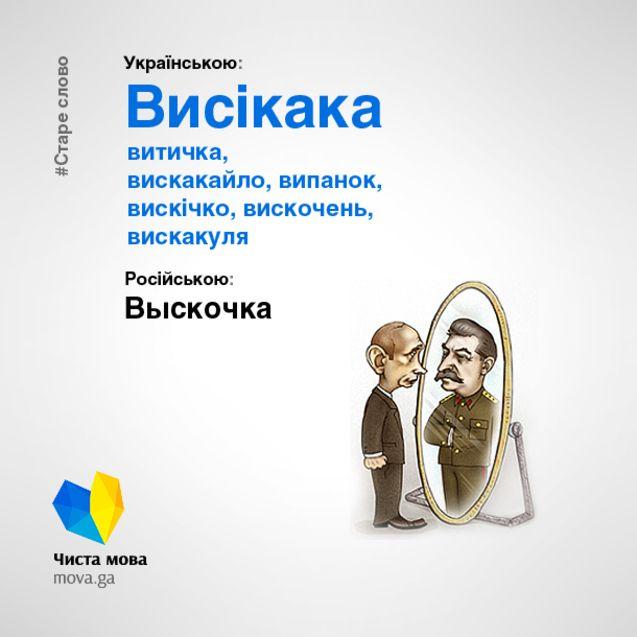 Як перекласти выскочка українською