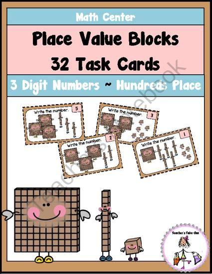 1000+ ideas about Place Value Blocks on Pinterest | Kids places ...