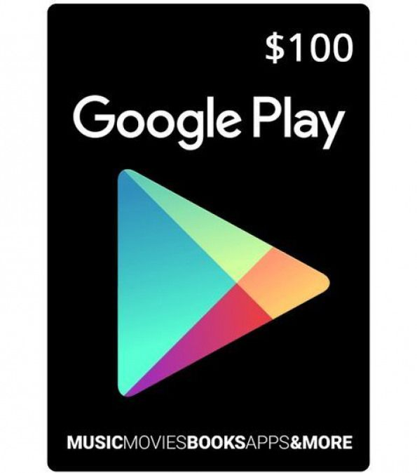 Can You Buy Robux With Google Play A Google Play 100 Card Is The Most Convenient Way To Download All Your Favorite Apps Games Books Movies An In 2020 Google Play Gift Card Google Play Codes Google Play
