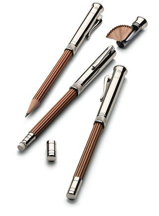 I WANT! AMAZING.  'Graf von Faber-Castell Perfect Pencil' Is Convenient For Sketching