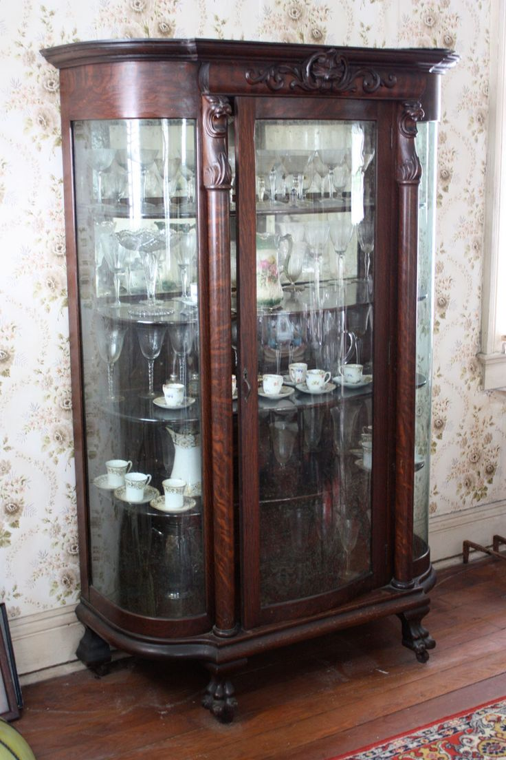 Old Antique Victorian China Cabinet | beautiful victorian china cabinet  that was stolen from our house - 91 Best Victorian China Cabinets Images On Pinterest China