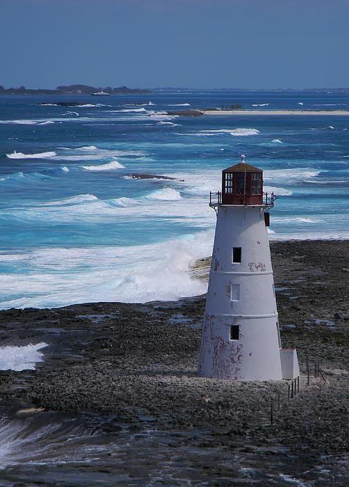 Nassau Harbor Lighthouse, Bahamas