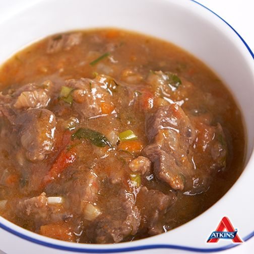 Here's a #LowCarb Beef and Vegetable stew recipe - perfect for a cold night in! (Phases 3-4)