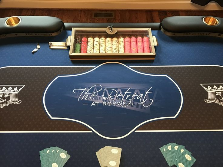 Custom poker table felt