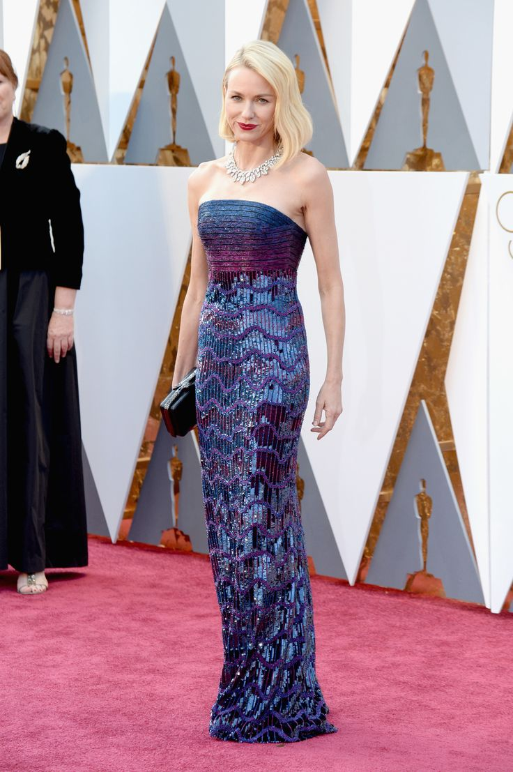 Oscars 2016: See Every Look from the 88th Academy Awards Red Carpet - Naomi Watts-Wmag