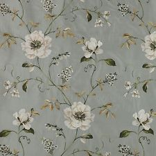 COWTON & TOUT Colefax &FowLER SILK EMBROIDERED Evesham OLD BLUE MSRP$392/Y