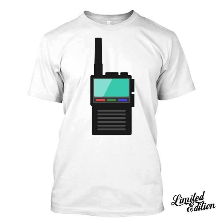 Walkies Talkie CB I Love Citizens Band Radio  Funny T Shirt Tees  #Unbranded