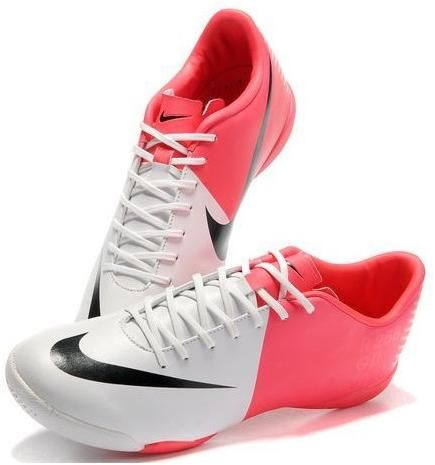 The Newest Nike Mercurial Victory III IC Indoor Football Trainers Soccer Cleats White Red Gallery3