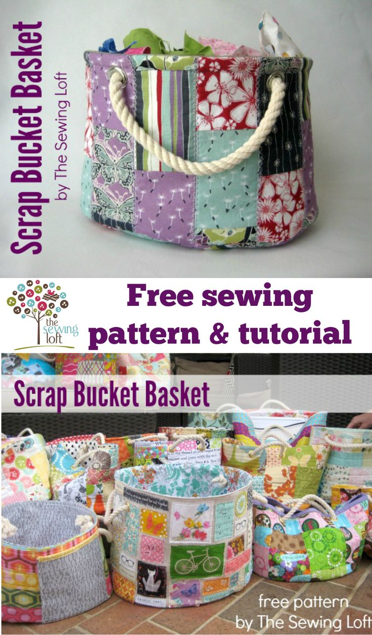 Stackable Scrap Bucket Pattern
