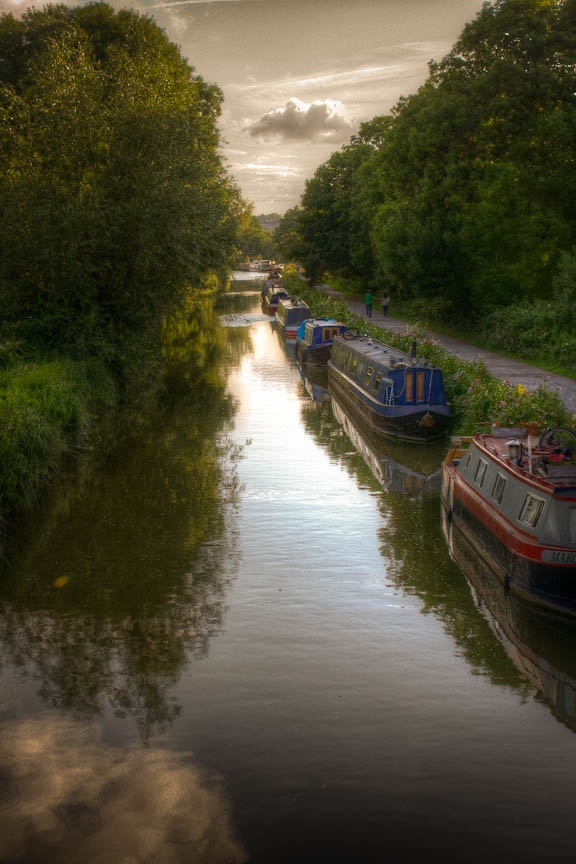Kennet and Avon Canal. Shot by the amazing photographer Bob Pease