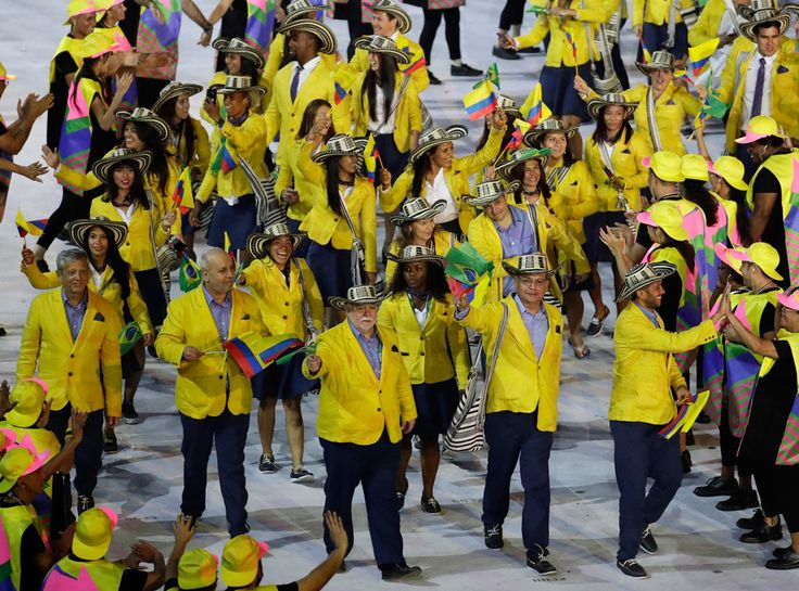 Opening Ceremony, Rio 2016, Olympics, Fashion, Colombia 8 Olympic Uniforms From the Rio Opening Ceremony That We Can't Help But Admire