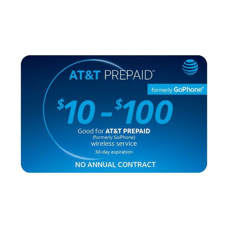 At&t $50 Prepaid Phone Card (Email Delivery) #PrepaidPhones