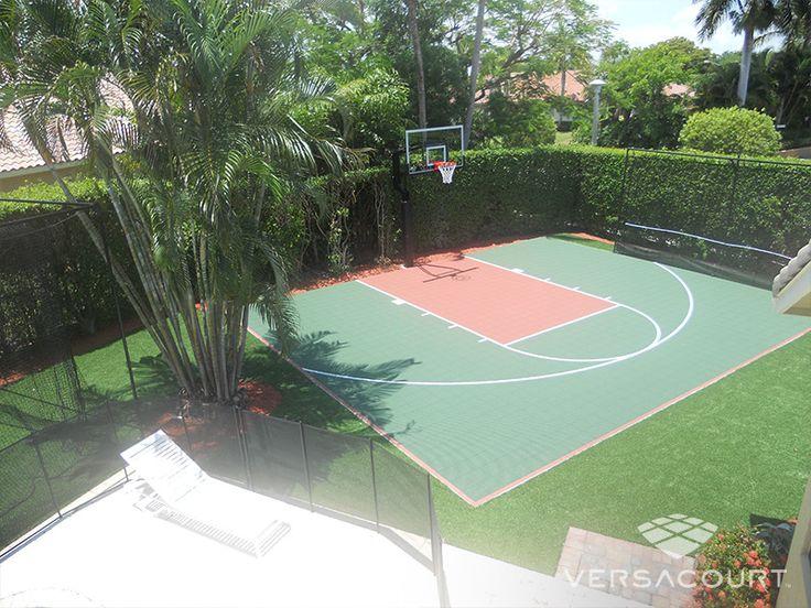 cancha de baloncesto jardin - Buscar con Google