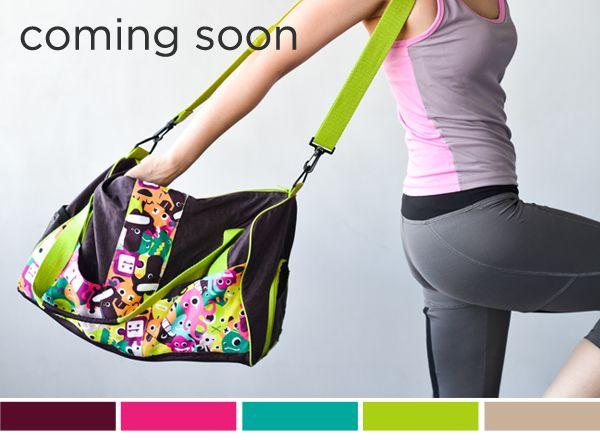 Coming Soon: Punchdrunk Panda Duffle Bags