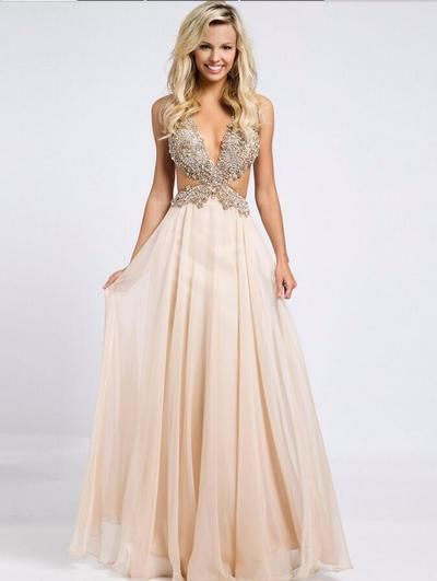 Backless Prom Dress, Sexy Prom Dress, http://makerdress.storenvy.com/products/16371330-backless-prom-dress-sexy-prom-dress-beaded-prom-dress-dresses-for-prom-c