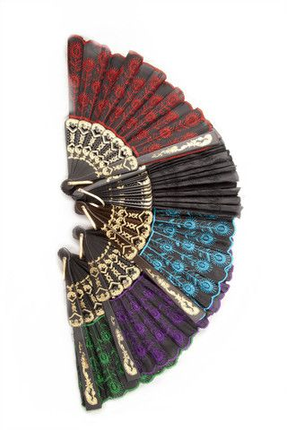 Classic Spanish Style Fans. https://www.galleryserpentine.com/collections/accessories-fascinators