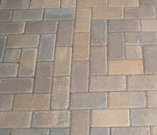 Patterns For Paver Bricks In The Spanish Bond Four