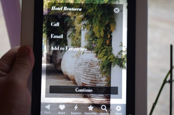 Hip Hotels app