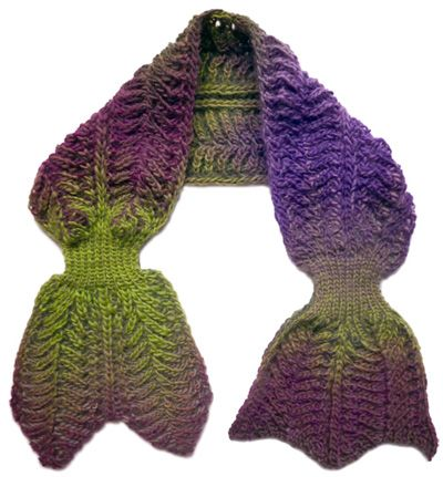Rodekool brioche scarf: Knitty Deep Fall 2010