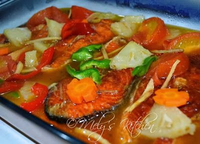 Homemade Sweet and Sour Fish