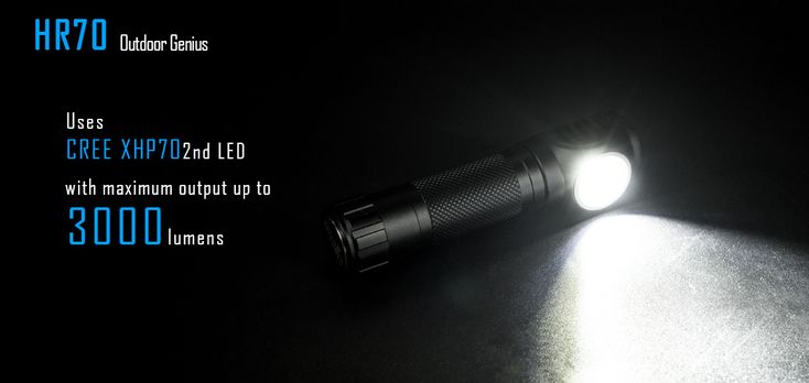 IMALENT HR70 XHP70.2 3000LM Brightness Magnetic Charging LED Flashlight Hiking Headlamp Torch