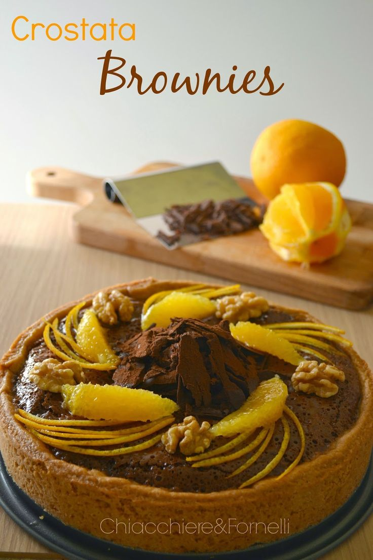 Chiacchiere & Fornelli: Crostata Brownies