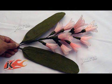 nylon flower making - Cerca con Google