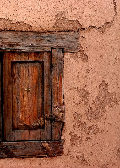 Windows can be doors in Taos, New Mexico. #taos #newmexico #journey