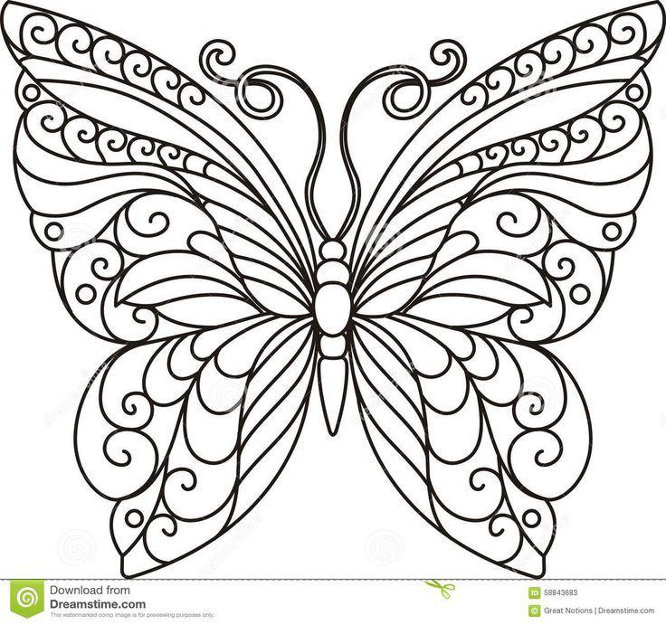 See The Source Image Blumenmalvorlagen Schmetterlingszeichnung Schmetterling Ausmalen