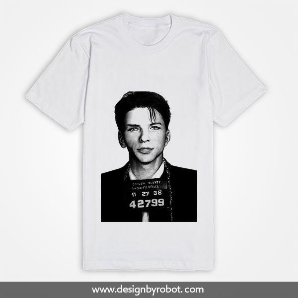 Frank Sinatra Mugshot Tee