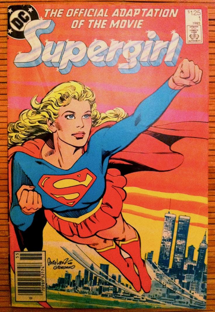Supergirl Movie Adaptation DC Comics by KingsleyVintage on Etsy