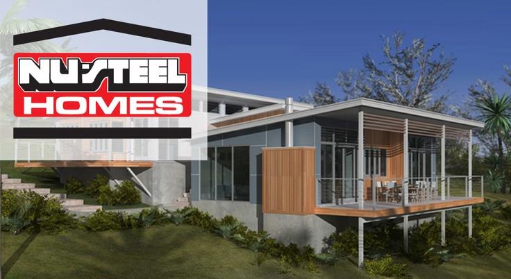 Sloping blocks - Nu Steel Homes | Builders | Pinterest | Steel and ...