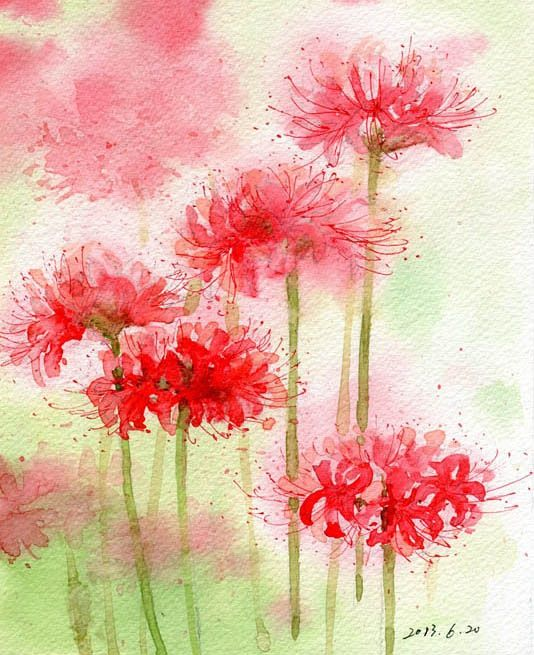 25 best ideas about watercolor flowers tutorial on for Easy watercolor tutorial