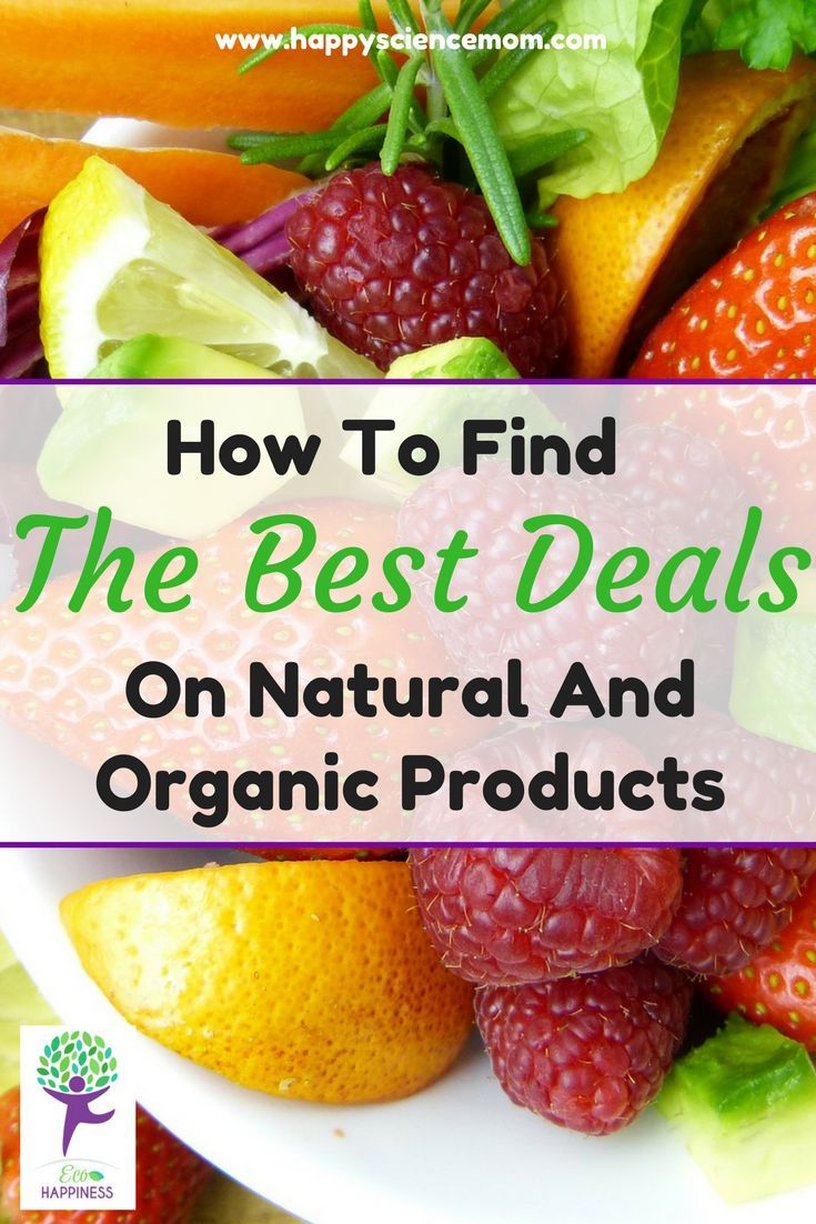 How To Find The Best Deals On Natural And Organic Products