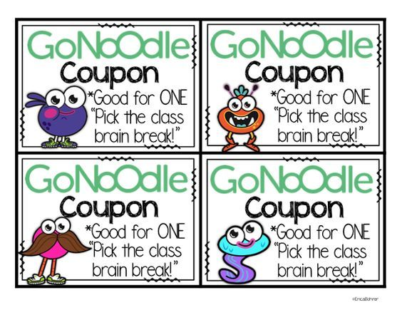FREE GoNoodle coupons