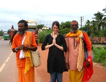 Sharell from Mumbai  http://www.whiteindianhousewife.com/