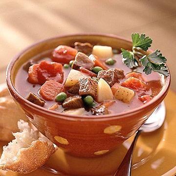 ... Slow Cooker Beef Recipes | Diabetic Living Online Beef-Vegetable Soup